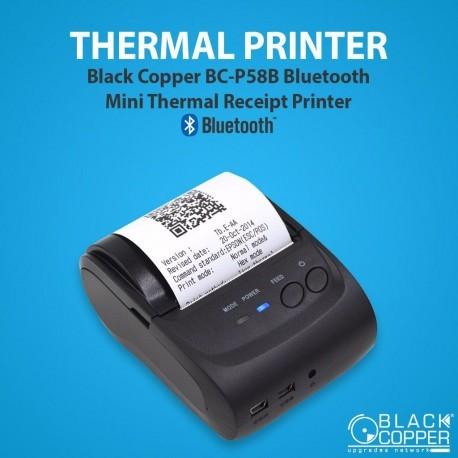 Black Copper Bc P58b Price In Pakistan Bc P58b Bluetooth Printer