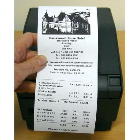 79mm * 45meter Thermal Paper Roll